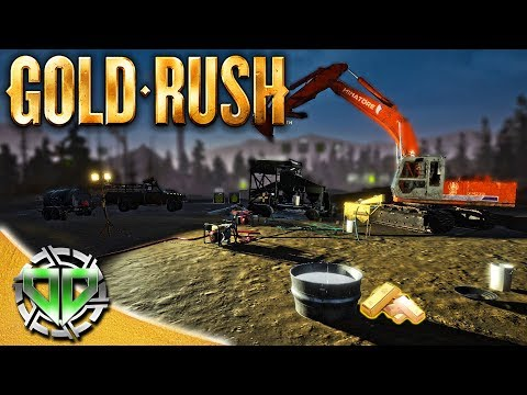 Gold Rush the Game : Gold at Night & New Fuel Tank!! (PC Lets Play)