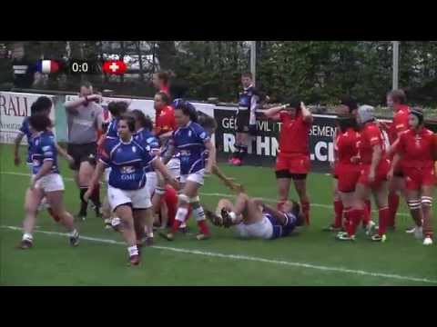 Swiss Rugby Day, April 2015 - Switzerland Women v France Militaire