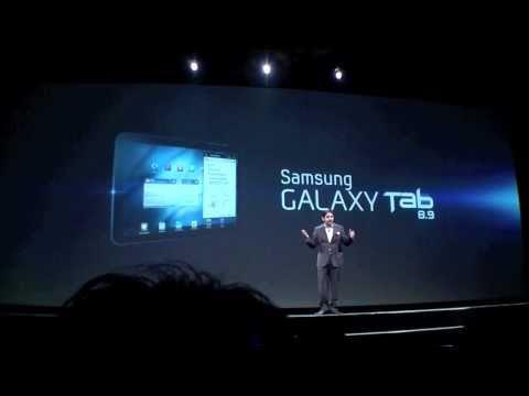 Introducing the new Samsung Galaxy Tab 8.9