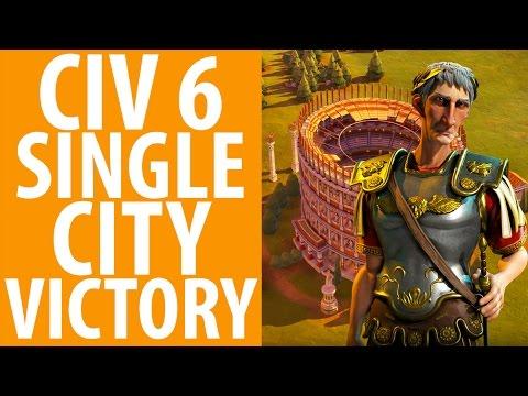 Civ 6: Single City Victory | Don't Trust Gandhi