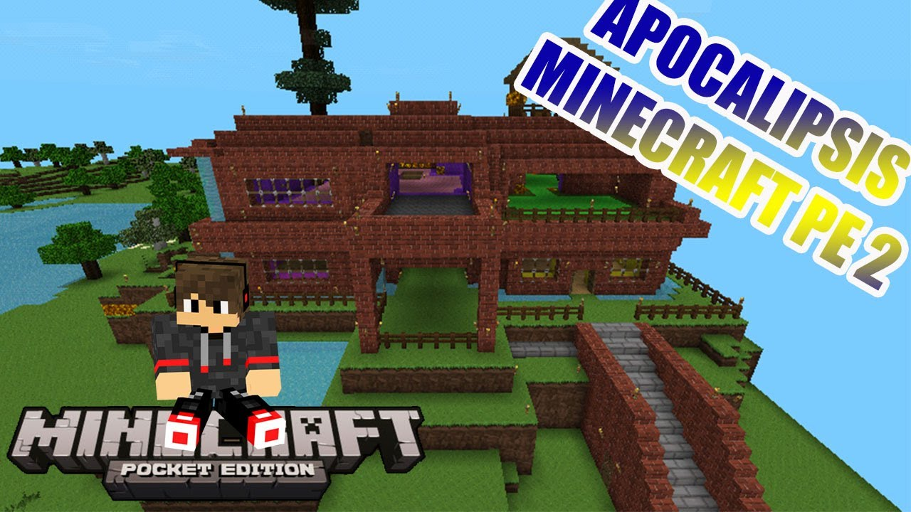 Minecraft Pe Villa De Apocalipsisminecraft Vegetta Y Willyrex By Tomasso
