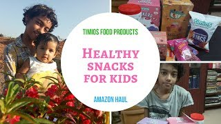 Timios/Healthy Food Products for Kids/Review /Amazone Haul /Shopping