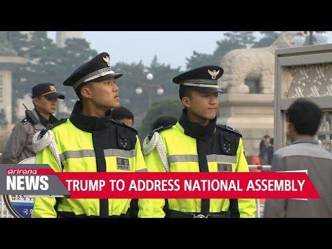 President Trump to address South Korea's National Assembly