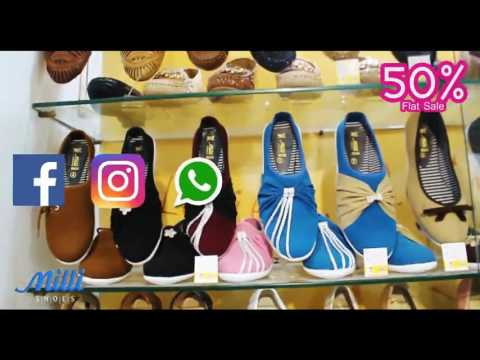 50% Flat Sale by Milli Shoes