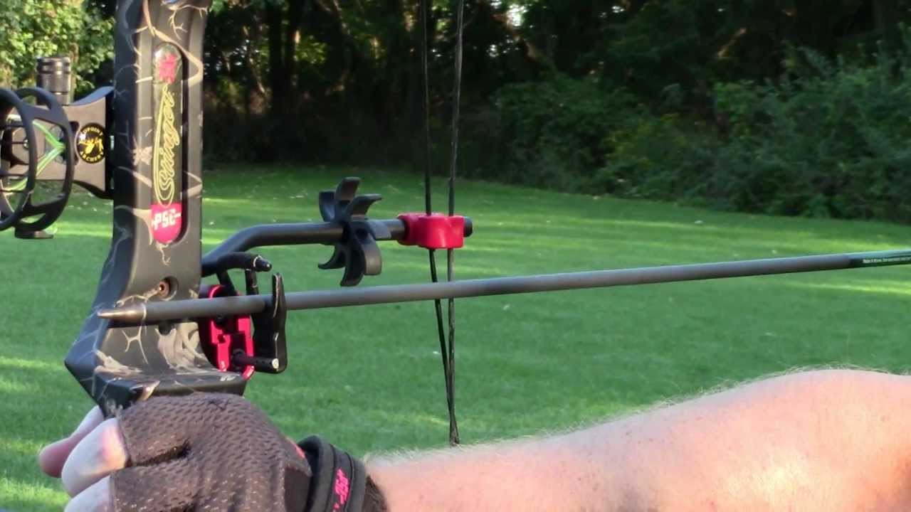 Pse Stinger 3g With Qad Ultra Rest Pro Hdx Right Hand Red