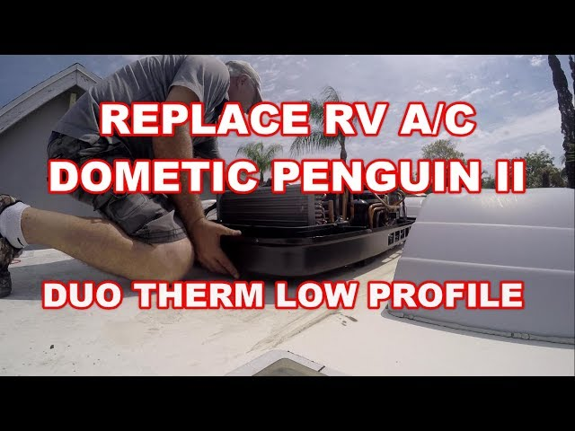dometic penguin wiring diagram origami advanced eagle how to replace rv ac ii duo therm heat pump 12 button 5 conversion kit youtube