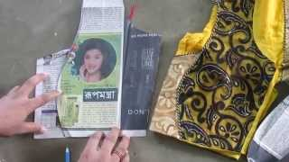 How to make Fashionable designer blouse B part 2 of 4