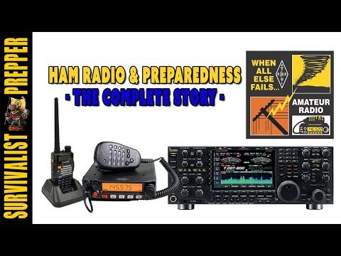 Ham Radio & Preppers: Basics of Amateur Radio, GMRS & MURS