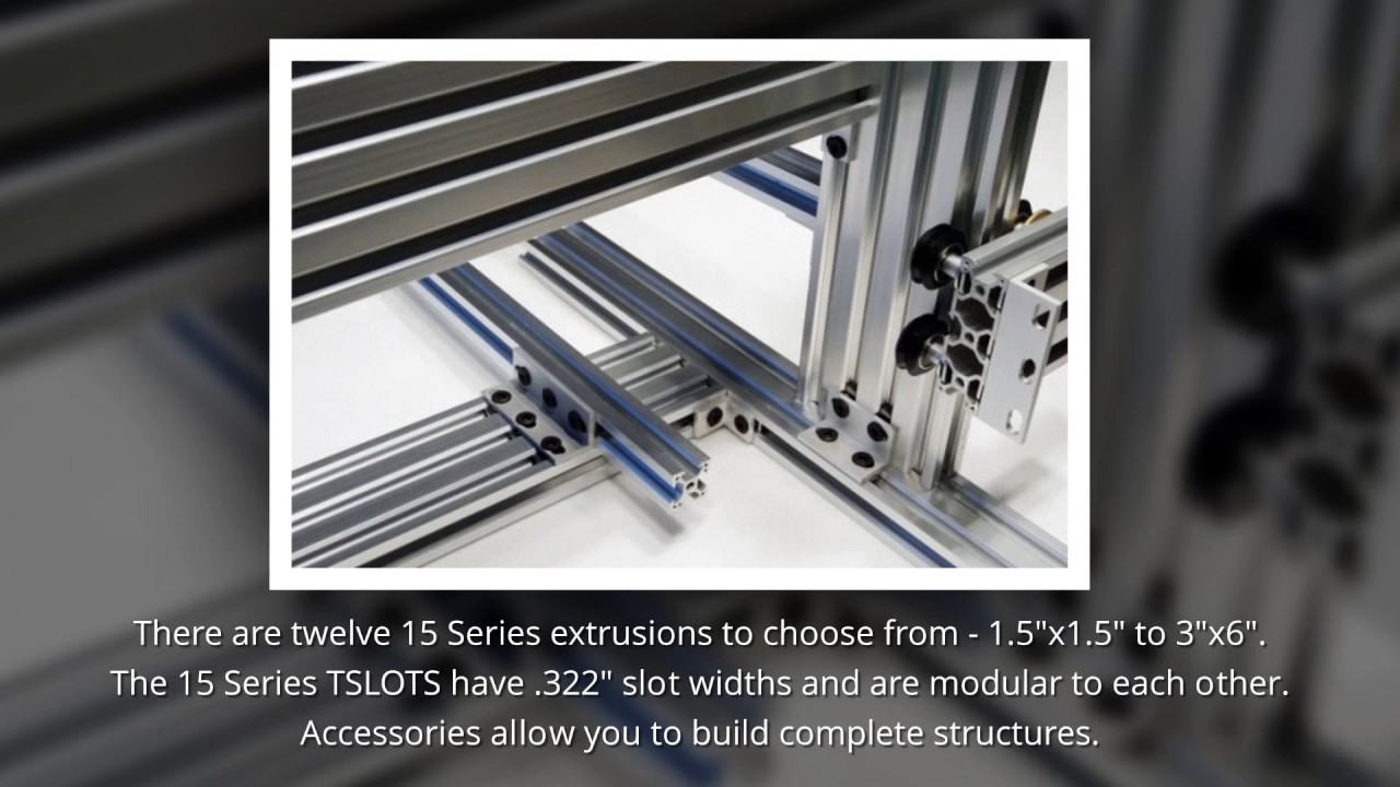 T-Slot Aluminum Extrusions | T-Slots | Eagle Mouldings