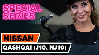 How to replace Serpentine belt NISSAN QASHQAI / QASHQAI +2 (J10, JJ10) Tutorial