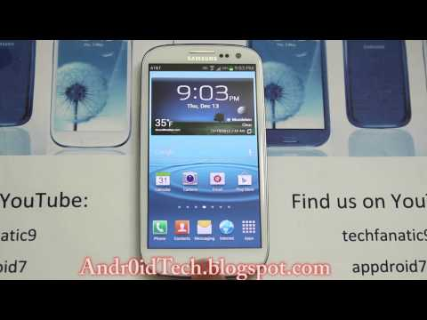 Best Rom for At&t Samsung Galaxy S3 I747: Stock Jelly Bean 4.1.1, Amazing battery life & lag free