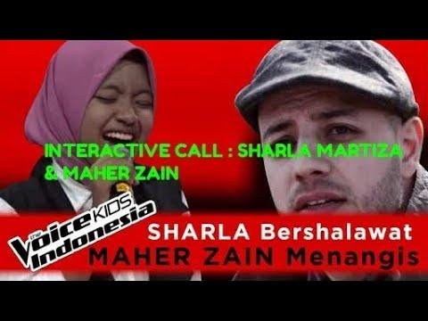 INTERACTIVE CALL : MAHER ZÀIN & SHARLA MARTIZA : THE VOICE KIDS INDONESIAN