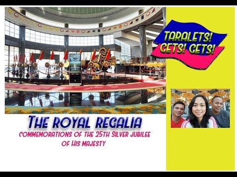 Royal Regalia Brunei | 25th Jubilee and Coronation Exhibit