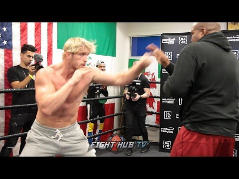 LOGAN PAUL IS RIPPED FOR PRO BOXING DEBUT - FULL WORKOUT FOR KSI REMATCH