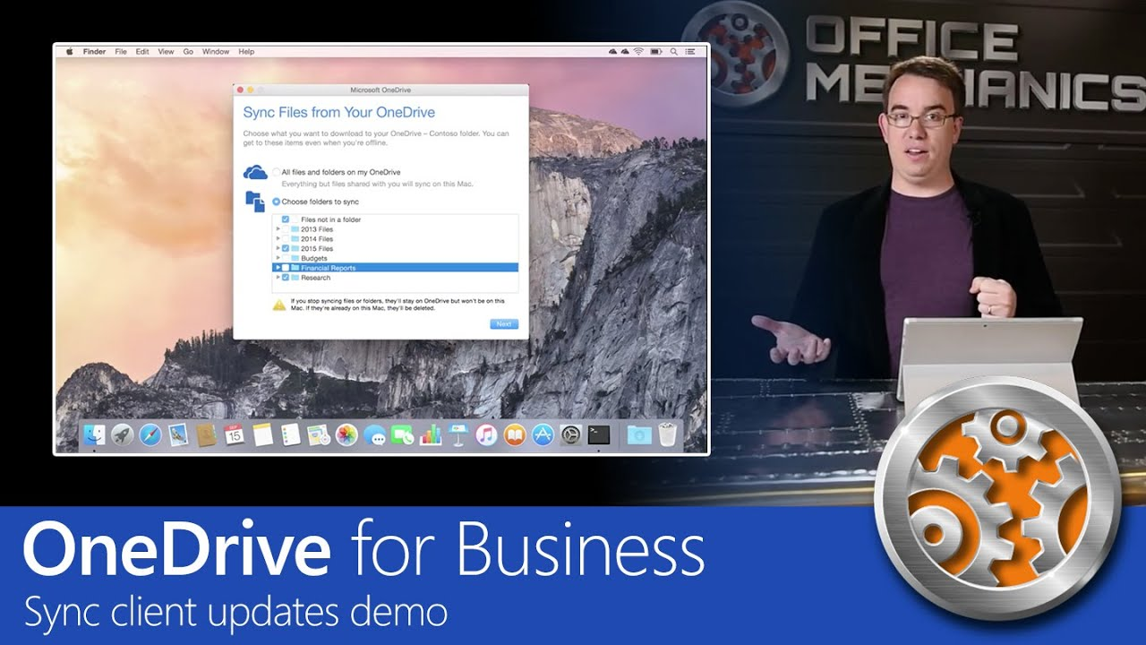 OneDrive for Business: Sync client updates demo