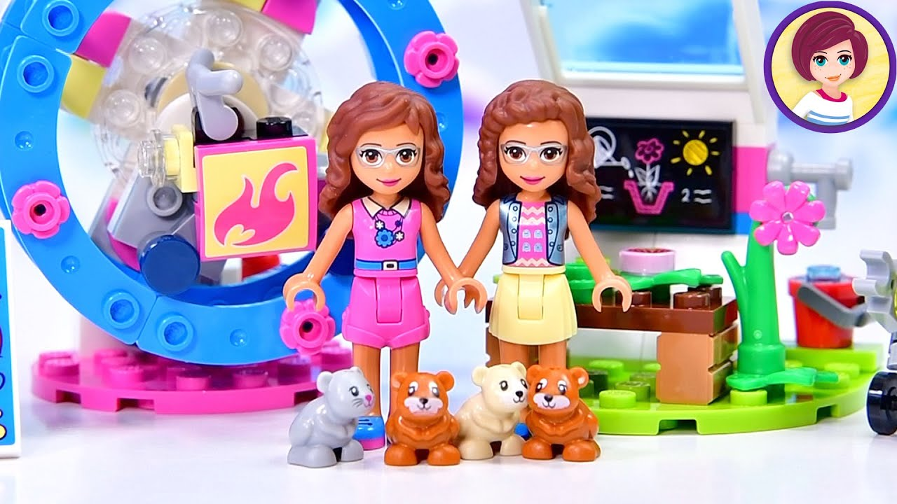 The amazing saga of two Olivias and too many hamsters - Lego Friends build & review