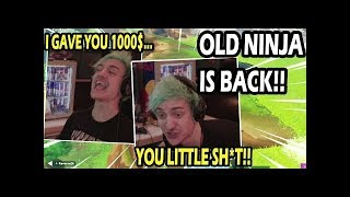 Old NINJA Comes Back And EVERYONE GOES CRAZY LAUGHING!! This was hilarious!!