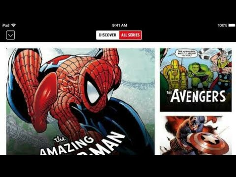 Free Marvel Comics And Other Comic Books Application For Android | October 2018