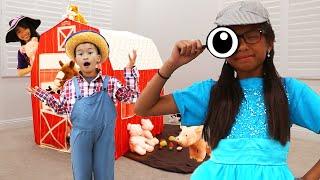Wendy Pretend Play Detective Police Videos for Kids & Children