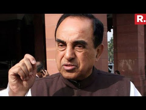 Subramanian Swamy Reacts On Impeachment Motion In Parliament