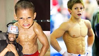 BRUH WTF! STRONGEST KIDS IN THE WORLD REACTION!!