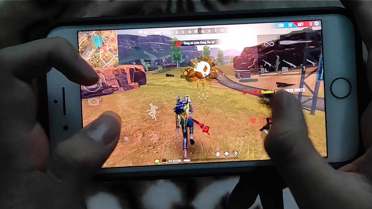 Free Fire : Hightlight #12 Super Shotgun God Handcam 🔥 iPhone 8 Plus