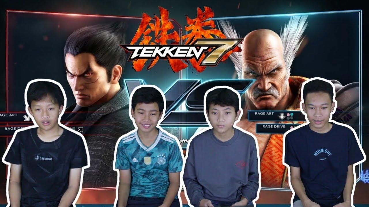 KAZUYA vs. HEIHACHI GAMEPLAY - Tekken 7 Tournament Indonesia (PS4)