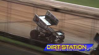 August 25, 2018 Lincoln Speedway - All-Star Sprint Highlights