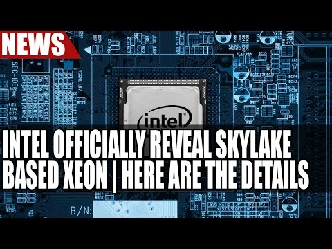 Intel Officially Reveal Skylake Based Xeon | 56 Threads Per CPU & 8 Sockets
