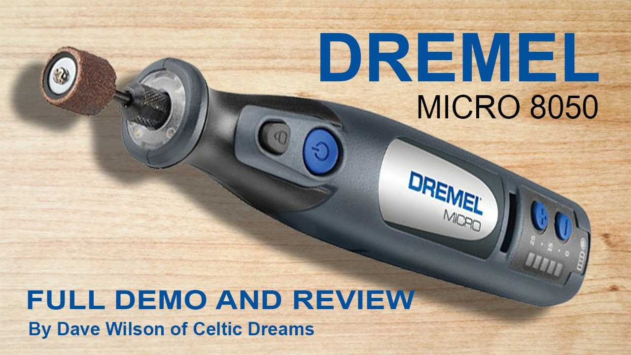 Dremel Micro Cordless 8050 Full Demo Review How To In Hd Youtube