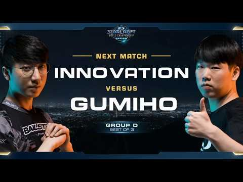INnoVation vs GuMiho TvT - Group D Winners - WCS Global Finals 2017 - StarCraft II