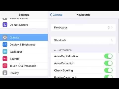 Speech to Text on an iOS Device (iPad, iPhone, iPod)