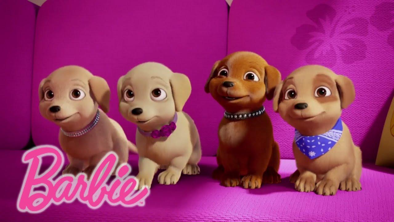 barbie meet my sisters and pets