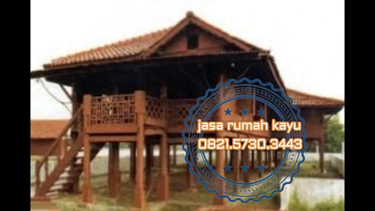 0821 5730 3443 Kontraktor Rumah Kayu Desain Jati Minimalis