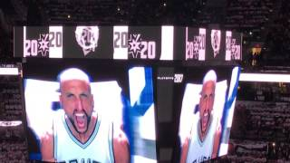 San Antonio Spurs Player Intro for NBA 2017 Playoffs