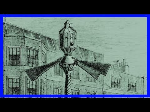 Breaking News | Here's what the world's first traffic lights, in westminster, looked like