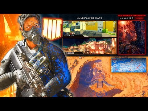 Black Ops 4: NEW MAPS Detailed & Future Season 3 Maps Explained