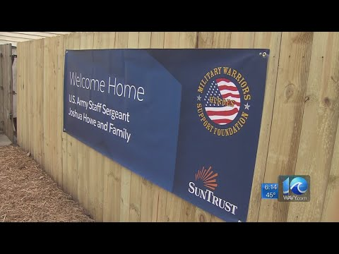 Veteran and his family gifted free home in Newport News