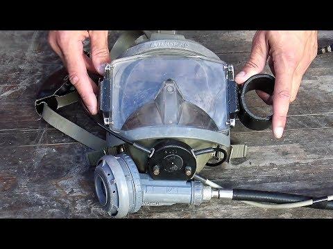 Worlds Best Scuba Diving Mask - AGA Interspiro Full Face Diving Mask Review - Divator Mask