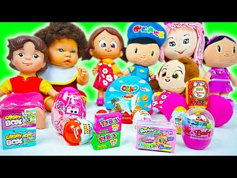 kinder-joy-surprise-eggs-shopkins-toybox-combo-cicibici-the-junk-food-we're-opening-great-wings