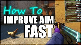"""CS:GO - How I Developed Almost """"PRO"""" Level Aim In Just 1 Month"""