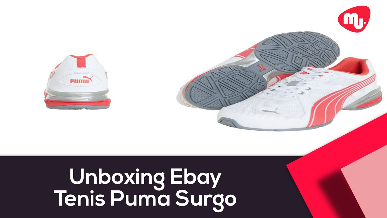 91442154071 Unboxing Dafiti Sports - Tenis Puma Surgo - YouTube