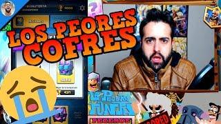 LOS PEORES COFRES DE TEMPORADA Y MÁGICOS | Supercell no me quiere |🐟LaPeceraTONTA🐟|