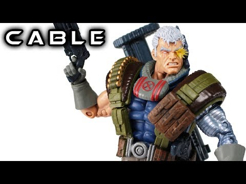 Marvel Legends CABLE Sasquatch Deadpool Wave Action Figure Review