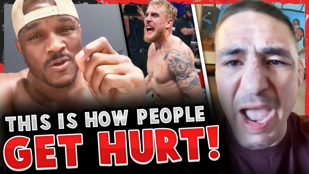 Kamaru Usman sends WARNING to Jake Paul after he posts pic of his DAUGHTER! Diego Sanchez GOES OFF!
