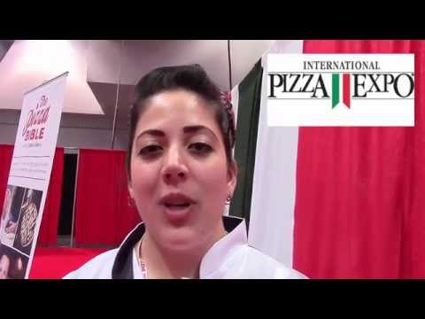 Chef Laura Meyer on Pizza Competition at Pizza Expo - YouTube