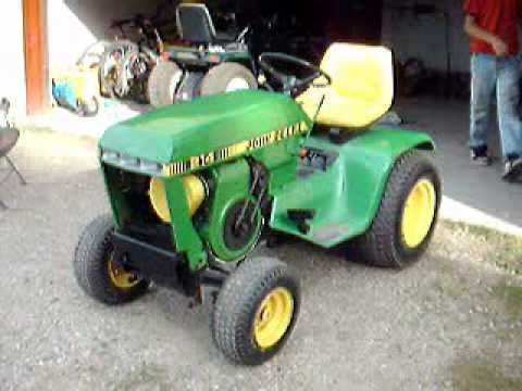 John Deere 214 >> 1979 John Deere 214 Break In Youtube