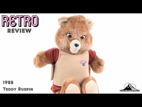 Optibotimus Retro Reviews 9: 1985 Worlds of Wonder TEDDY RUXPIN