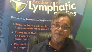 Joachim (Joe) Zuther talks about the Incidence and Prevalence of Secondary Lymphedema