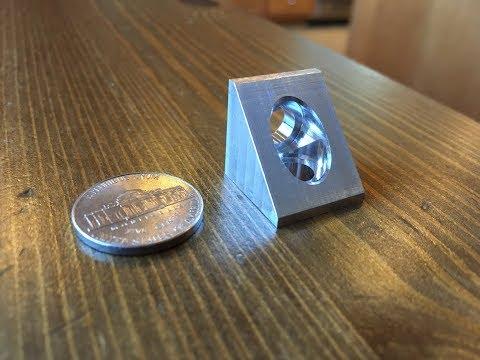 CNC Milling Aluminum Angle Brackets